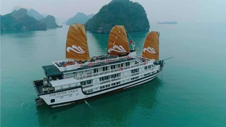 Paradise Sails set to debut on Ha Long Bay