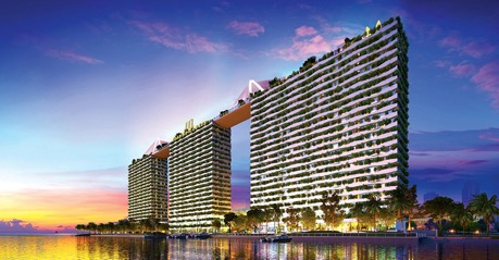 Final Sky Bridge completed at Diamond Lotus Riverside