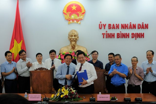 Binh Dinh approves FPT Education - Artificial Intelligence Complex