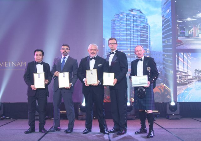 Meliá Hanoi a winner at International Hotel Awards 2019