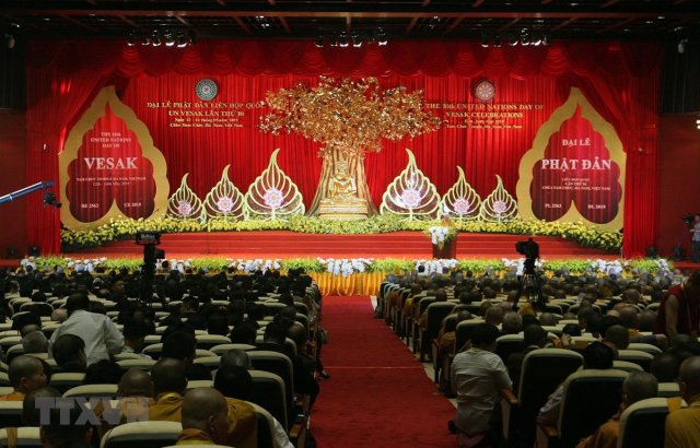 Vesak Day 2019 underway