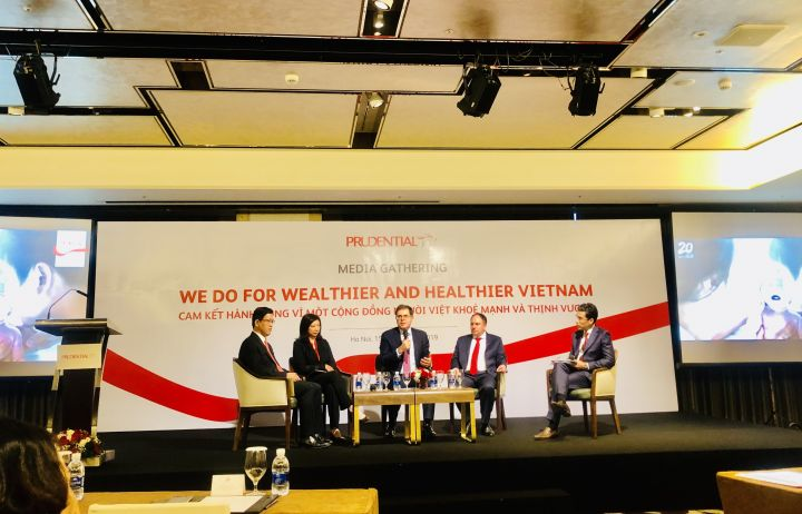 Prudential Vietnam announces new commitment on 20th anniversary