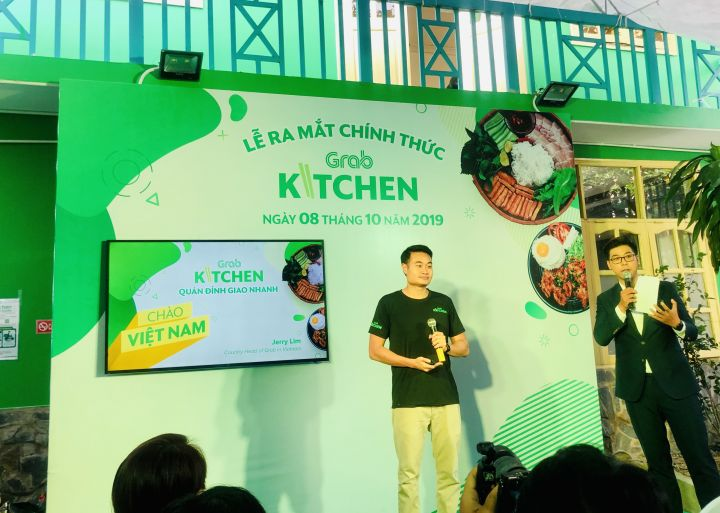 Grab launches GrabKitchen in HCMC