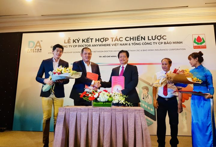Doctor Anywhere & Bao Minh partner in healthcare digitalization
