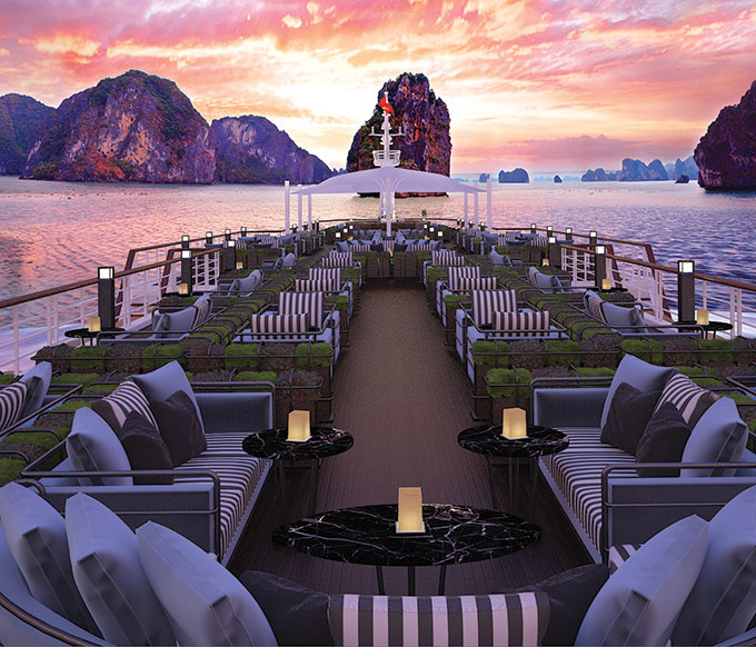Paradise Grand set to ply waters of Lan Ha Bay