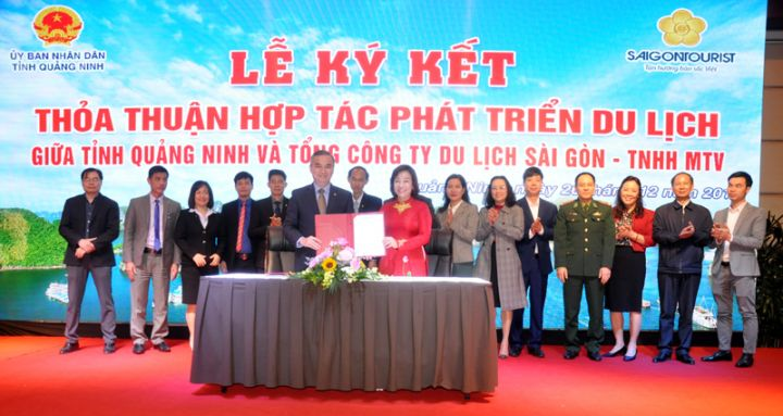 Saigontourist & Quang Ninh join hands in tourism development